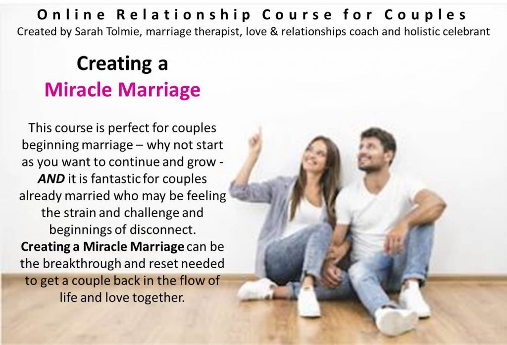 Creating a Miracle Marriage Online Course for Couples
